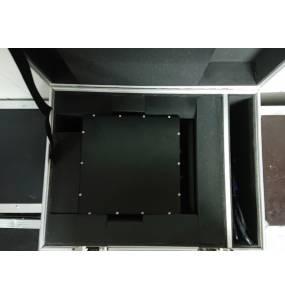Flight case PRO + 4W RGB PRO