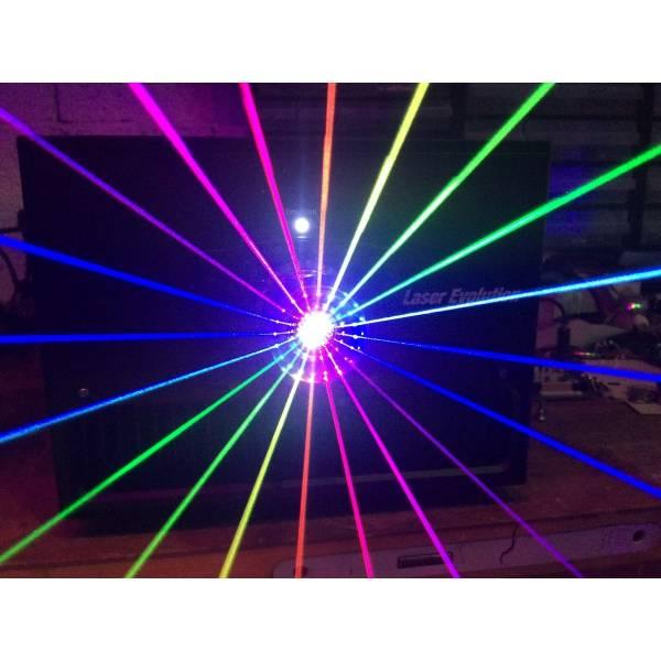 Laser 6W RGB PRO + lentille Discoscan