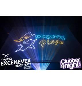 XNV BEACH PARTY SHOW LASER EVOPRO 2015, LASER 4W RGB PRO