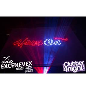 XNV Beach Party 2015 show Laser EvoPro