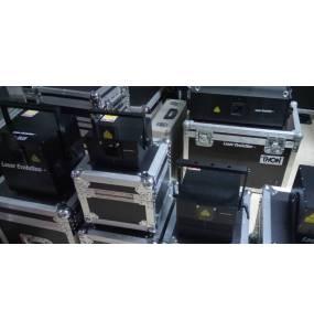 Stock laser RGB / Vert