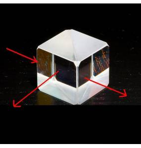 cube polarisé
