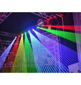 Projection lyre laser 5W RGB