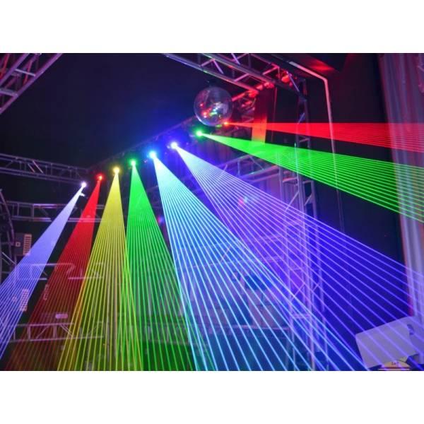 Projection lyre laser 5W RGB