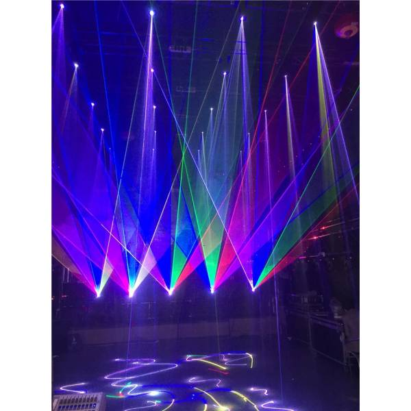 SHOW LYRE LASER 2W RGB (DMX)