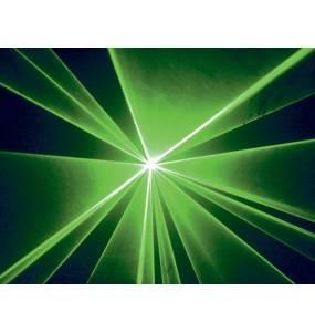 Projection lyre laser 1W Vert
