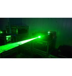 Faisceau laser 2W Vert