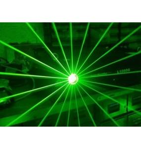 Laser 2W Vert et lentille 360 Discoscan